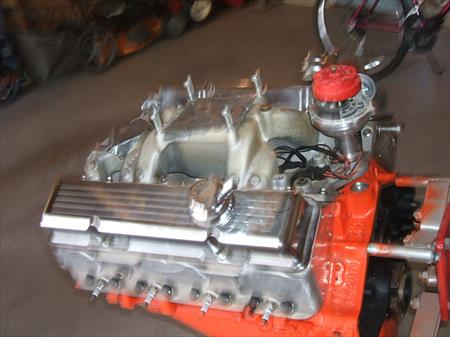 1964 327 Chevy motor high performance 410 HPH