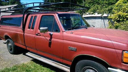 Ford F250 7.3L Diesel extended cab wit..