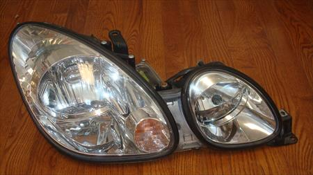 1999 LEXUS GS300 OEM HALOGEN Passenger Right Side <em>Headlight</em> <em>Assembly</em> 071714