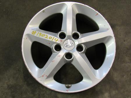 2007 HYUNDAI SONATA USED R. FRONT ALLOY <em>WHEEL</em> W/ <em>CENTER</em> CAPS OEM 1502014
