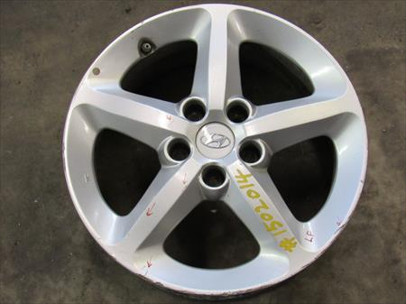 2007 HYUNDAI SONATA USED L. FRONT ALLOY <em>WHEEL</em> W/ <em>CENTER</em> CAPS OEM 1502014