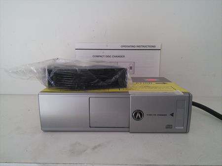 2005 2006 Acura MDX OEM 8 Disc CD Changer with Cartridge 08A51-S3V-200