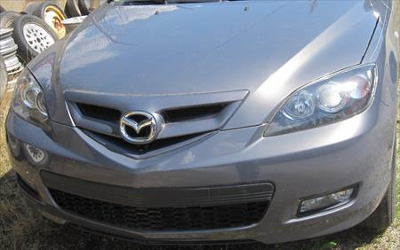 FRONT CLIP, 2009 Mazda 3 2.3L AT Hatch..