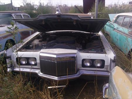 1972 Lincoln Continental 72/Lcont/7755