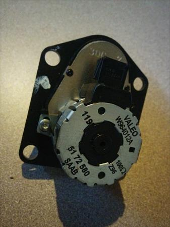 <em>Saab</em> stepping motor