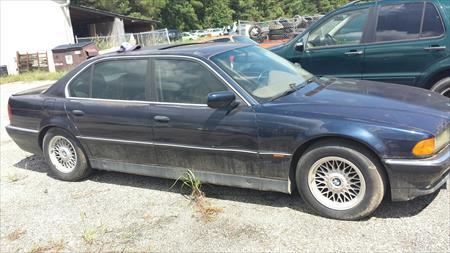 BMW 740il Parting Out