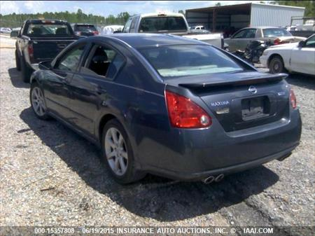 2008 nissan maxima hole car for parts