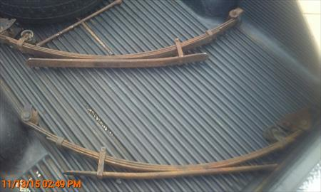 84-88 Toyota Truck Leaf Springs, Pair