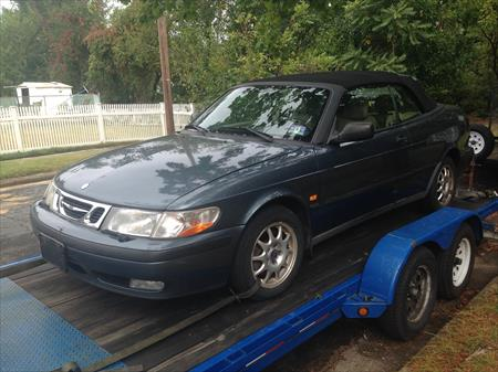 2003 SAAB 9-3 CONVERTABLE in NJ 08012