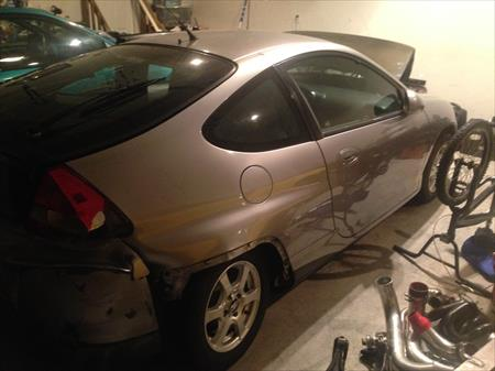 2001 HONDA INSIGHT PARTS CAR IN NJ 08094