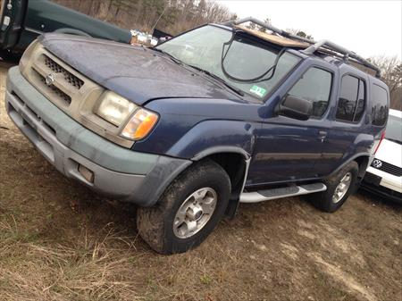 2000 NISSAN XTERRA PARTS CAR in NJ 08094