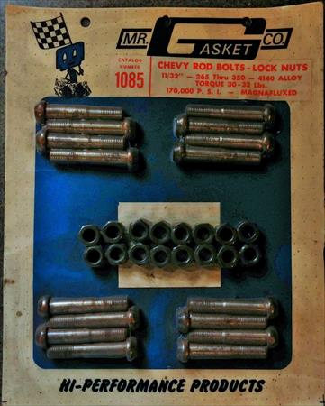 Chevy Rod Bolts- Lock Nuts