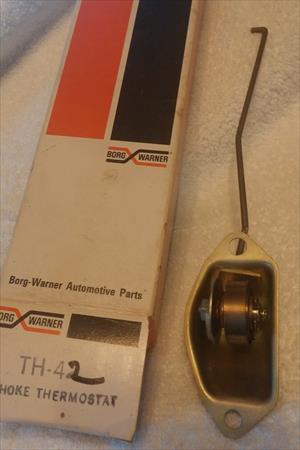 Th-42 BWD NOS Choke Thermostat Barracuda, Challenger, Dodge Dart Ply Valiant
