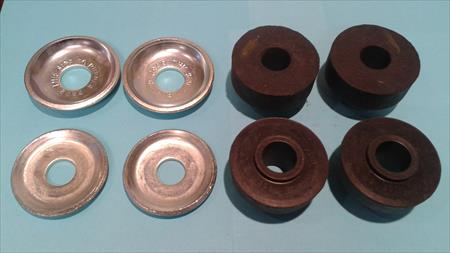 Strut Rod Bushing Kit - Dodge B100/B200/B300/CB300 & Plymouth PB100/PB200/PB300