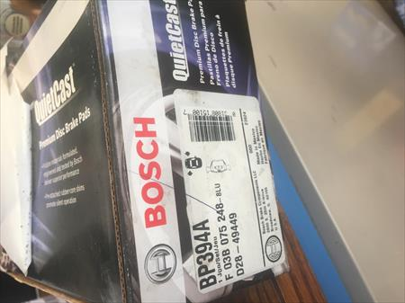 Bosch Brake Pad Set of 4 New