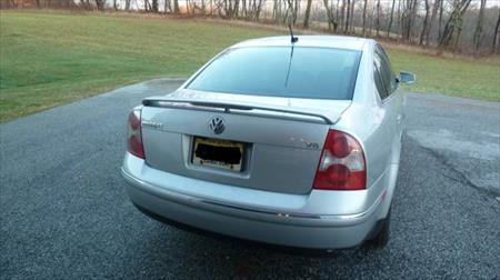 2004 <em>VW</em> Passat V6/stereo/spoiler/fog lights/rear sunshade
