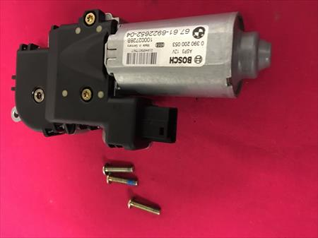 2005 BMW E53 X5 4.4i PANORAMIC SUNROOF MOTOR ASSEMBLY 67616922652, OEM