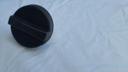 Front of Product ACDelco GT283 GM Original Equipment Black Fuel Tank Cap (missing strap) GT283