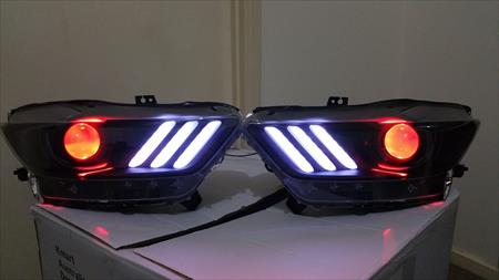 FORD MUSTANG RGBW  LED DRL LIGHTS 2015 - 2017  (Free Shipping) RGBW-XJ90-2000 00000008237