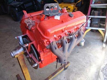 LS5 fully rebuilt engine true 4 bolt only 2 hours run time