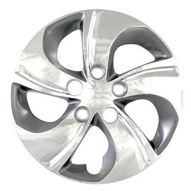 Wheel Cover; 15 Inch; 5 Twisted Spoke; Chrome Plated; Set Of 4 51015CC