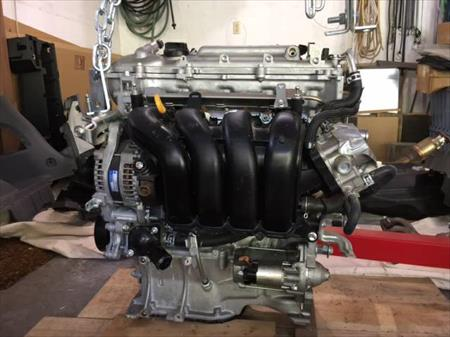 2009 to 2012 TOYOTA 1.8 L Engine Corolla Matrix 17 Miles Mint Condition