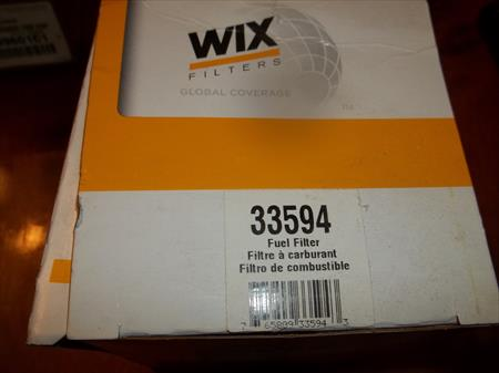 WIX 33594 FUEL FILTER FOR MERCEDES-BENZ C230, C280, CL55 AMG, CL600, E320, E420
