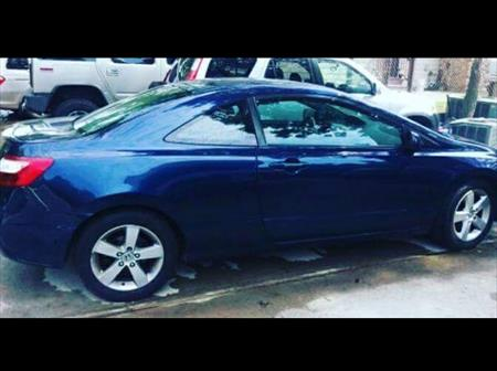 2009 Honda Civic coupe for parts bad t..