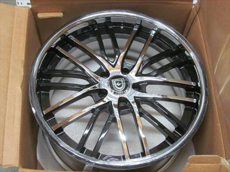 LEXANI CUSTOM WHEEL RIM SET - FITS MERCEDES-BENZ CL63 AMG 2011
