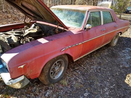 1965 BUICK SKYLARK 4 DOOR SDN FOR PARTS OR  GREAT RESTORATION PIECE